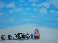 I Want Candy - acrylic on canvas by Catherine Pang-Murray Dumpling, Candy, Illustrations, Watercolor, Painting, Design, Art, Pen And Wash, Art Background