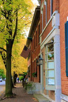 Fall in German Village | Columbus, Ohio