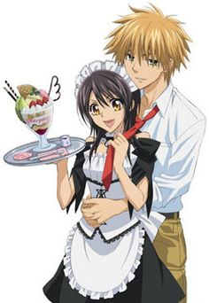 Kaichou Wa Maid-sama! | X2 | Misaki Ayuzawa is the first female student council president at a once all boys school turned co-ed. She rules the school with strict discipline demeanor. But she has a secret, she works at a maid cafe due to her families circumstances. One day the popular A student and notorious heart breaker Takumi Usui finds out her secret and makes a deal with her to keep it hush from the school in exchange for spending some time with him.