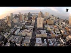 A first-person perspective from a radio-controlled drone being flown around San Francisco.