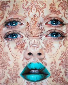 "Alex Garant ""Baroque Perception"" oil on canvas"