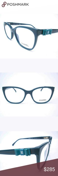 Chanel Eyeglasses New and authentic  Chanel Eyeglasses  Torqouise frame  Size 53-17-140  Includes Chanel case only Chanel  Accessories Glasses