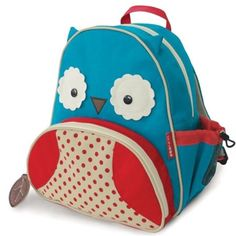 f024149fe Skip Hop - Skip Hop Zoo Toddler Kids Insulated Backpack Otis Owl,  12-inches, Blue - Walmart.com