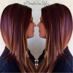 Redken Blurring|Auburn/Red Hair with Olaplex