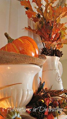 Beautiful fall decoration