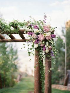 #chuppah, #canop  Photography: JoPhoto - www.JoPhotoOnline.com  Read More: http://www.stylemepretty.com/2014/12/15/rustic-lavender-blush-colorado-wedding/