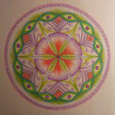 Therapy Vision Mandala - Original by: Zoharit Rubin. $44.00, via Etsy.
