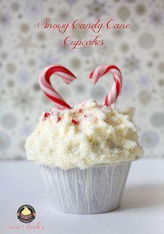 Weihnachts Winter Wunderland: Cupcakes + wie mache ich Weihnachtsbaum Cupcakes | niner bakes