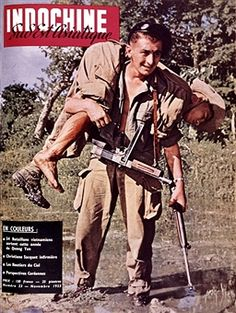 Cover of the magazine 'Indochine', November 1953, France, Indo-China War, Private collection. Pin by Paolo Marzioli