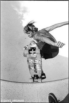 Jay Adams - Dude looks like he's a jet taking off! ;-)