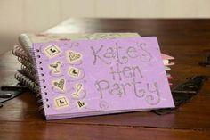 Personalised Hen Party Keepsake Book