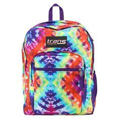 JanSport SuperMax Backpack - Purple Night Flutter | Floral ...
