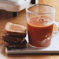 Tomato Soup and Grilled Cheddar - still an all time favorite and the best comfort food this side of macaroni & cheese!
