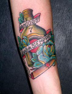 Μοντερέι Tattoo Expo 2008 - Este τατουάζ lo hice ένα mi amigo Lucio que trabaja…