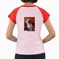 Shih+Tzu+Sitting+Women's+Cap+Sleeve+T-Shirt