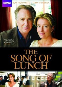 Rent The Song of Lunch starring Alan Rickman and Emma Thompson on DVD and Blu-ray. Get unlimited DVD Movies & TV Shows delivered to your door with no late fees, ever. Movie To Watch List, Good Movies To Watch, Series Movies, Movies And Tv Shows, Tv Series, The Song Of Lunch, Love Movie, Movie Tv, Period Drama Movies