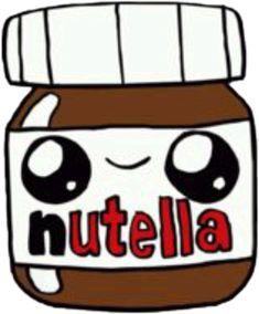 Welcome to the official USA website of Nutella®. Kawaii Girl Drawings, Cute Food Drawings, Cute Little Drawings, Cute Animal Drawings, Cool Art Drawings, Disney Drawings, Cartoon Drawings, Food Drawing Easy, 365 Kawaii