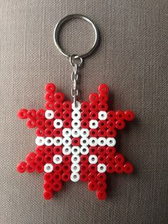 Keychain made from Hama beads. Hama Beads, Diy And Crafts, Personalized Items, Google, Art, Art Background, Kunst, Performing Arts, Hama Bead