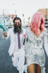 amazing las vegas wedding these two rule.