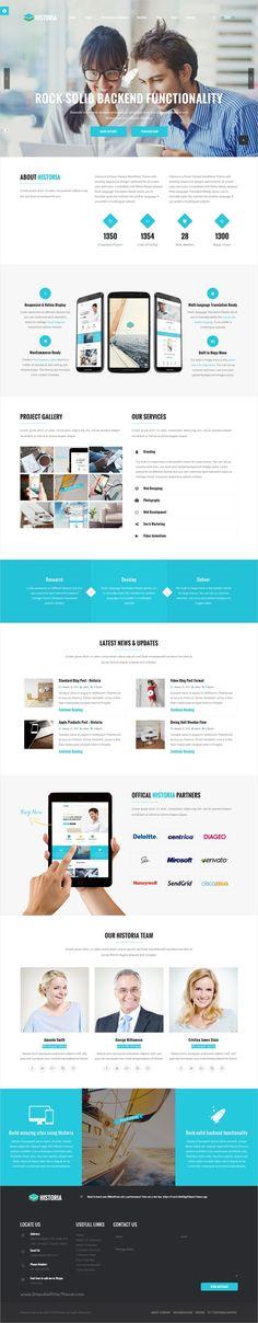 Historia is beautifully #design versatile #WordPress theme for stunning #agency website with multipurpose 20+ homepage layouts download now➩ https://themeforest.net/item/historia-responsive-multipurpose-wordpress-theme/16854647?ref=Datasata