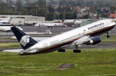 #Boeing-767-200ER,#AEROMEXICO,#TAKEoff...
