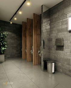 42 Elegant Public Bathroom Design Ideas That Looks Adorable