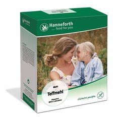 Bezglutenowa mąka teff 500g firmy Hanneforth. Certyfikat.
