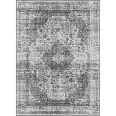 Alise Eternity Silver Area Rug (7'10 x 10'3)
