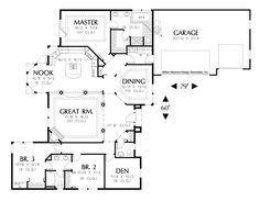 House Plan 1216 -The Shawnee | houseplans.co