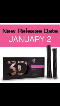 Our NEW 3D fiber lashes+  are amazing!  Buy yours on Jan 2nd!!
