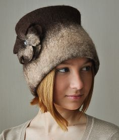 Hand felted hat | Flickr - Photo Sharing!