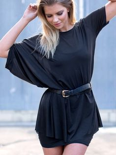 Super Drape Top (WW $99AUD / US $80USD) by Black Milk Clothing