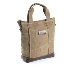Sand  wax coated cotton Laptop Tote Bag 5b116467164d8