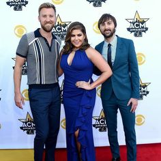 Lady Antebellum on the 50th ACM Awards Red Carpet! #ACMawards50