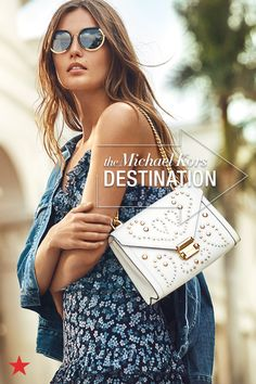 92d0273d2d1c Macy s is your fashion destination for all things Michael Kors. Get ready  for summer with