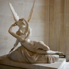 Psyche revived by cupids kiss
