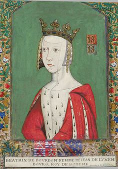 Beatrice de Bourbon, Countess of Luxembourg