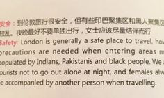 """Air China Magazine Forced To Apologise Over 'Racist' Warning To Passengers Visiting London 