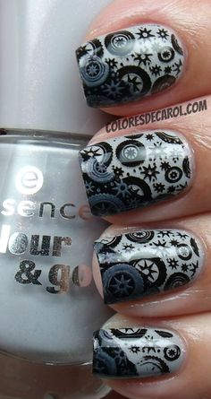 Colores de Carol: Essence Grey-t To Be Here...want these stamping plates, too!