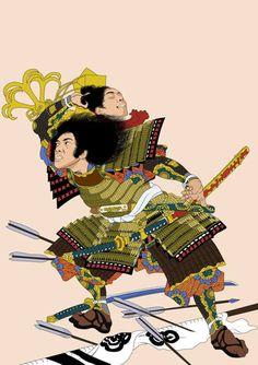 "theblacknurse:  "" Samurai Me by Chokz Rodriguez  """