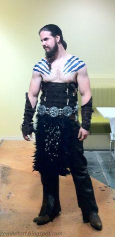 Bryce Homick: Khal Drogo Halloween Costume Complete!