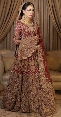 Inbox us to order ✉📬 Contact 📞 📞☎ (WhatsApp ) Can be made in any Color Size Latest Bridal Dresses, Asian Bridal Dresses, Latest Fashion Dresses, Wedding Dresses For Girls, Bridal Wedding Dresses, Bridal Outfits, Asian Wedding Dress Pakistani, Pakistani Bridal Makeup, Indian Bridal
