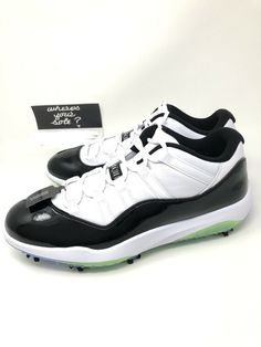 a430f555ec5b eBay  Sponsored Nike Air Jordan 11 Concord Low XI Men s Golf Shoe Size 12  New