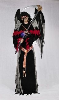 Ultimate Animated Winged Reaper Prop @halloweenclubs