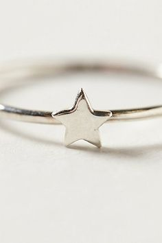Star ring (love how little it is!) #AnthroFave