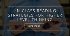 Reading activities can be the most difficult to construct because the entire reading process is so internal, going on largely in the student's head. Discussion, which is external and b