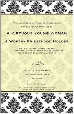 Virtue Activity Invite