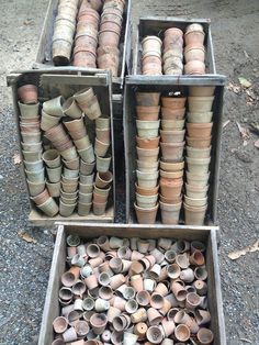 Devine little mini French pots now at Lily Pond. Use them as charming pots or be creative and stack and tumble them with other old French pieces