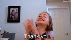 Thank You Reaction GIF   Thank You Kid Reaction Gif