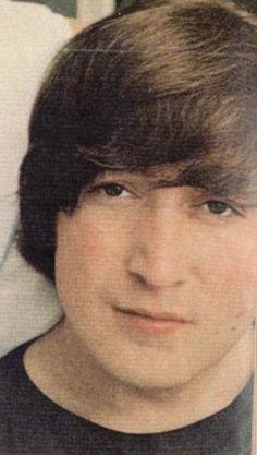 John and his bangs.